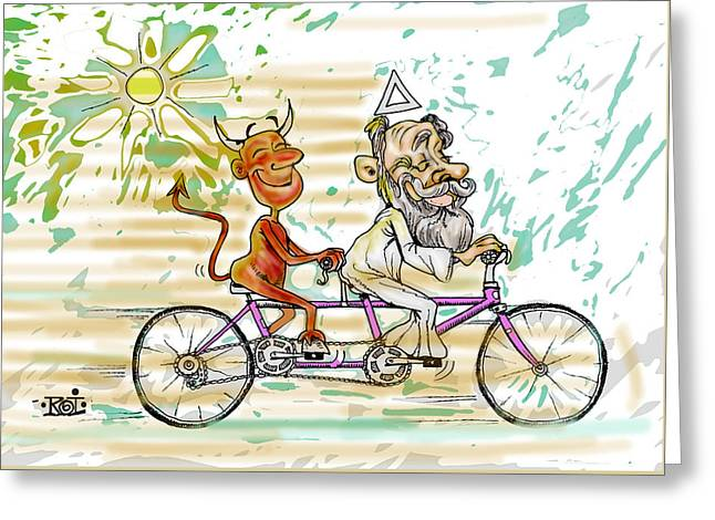 Bicicle Greeting Card