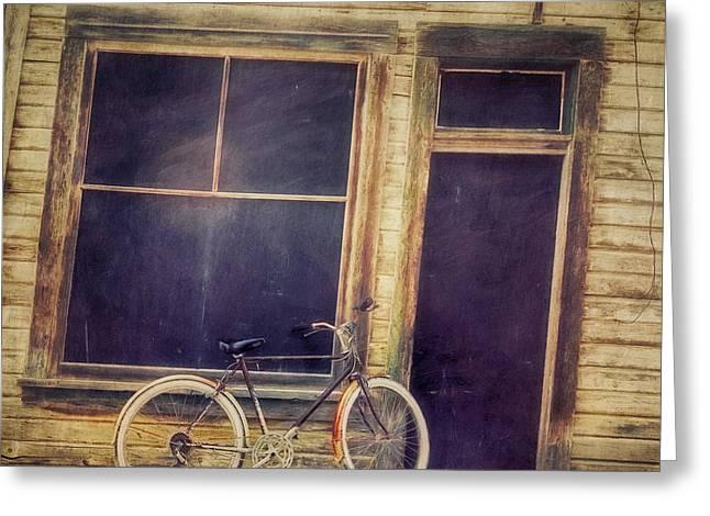 Bicycle Greeting Card by Priska Wettstein