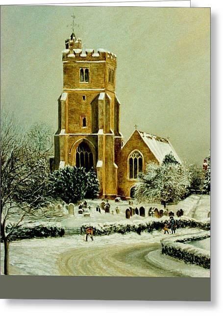 Biddenden Church Greeting Card