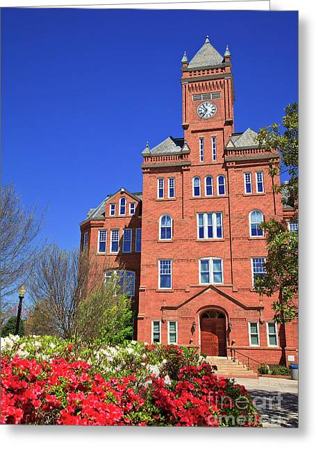 Biddle Hall In The Spring Greeting Card