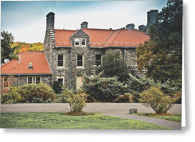 Biddle Mansion - Tarrytown Greeting Card by Colleen Kammerer