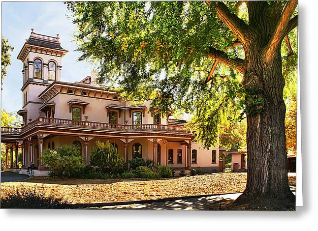 Bidwell Mansion Greeting Card