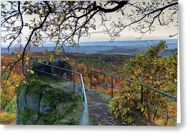 Bielsteine, Harz Greeting Card by Andreas Levi
