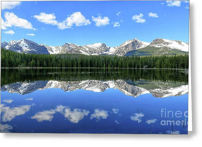 Bierstadt Lake In Rocky Mountain National Park Greeting Card