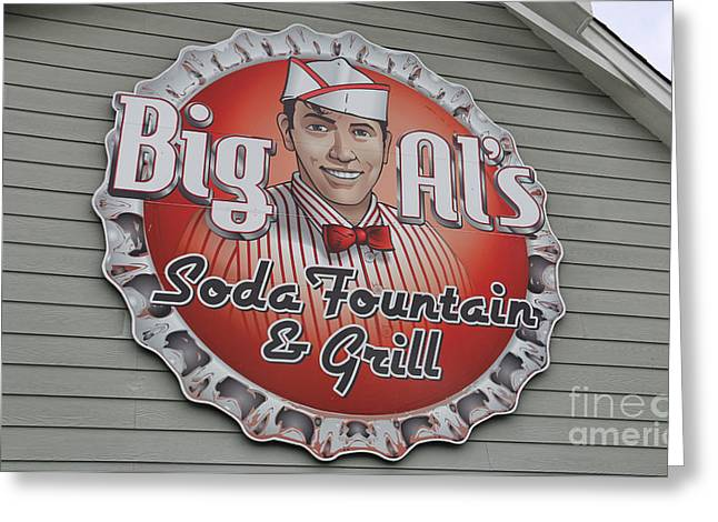 Big Als  3174 Greeting Card by Jack Schultz
