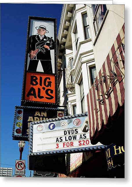 Big Al's Greeting Card by Mary Capriole