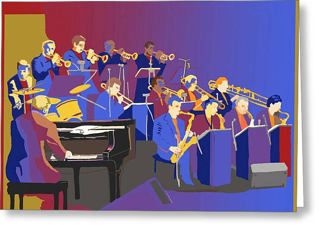 Big Band Greeting Card