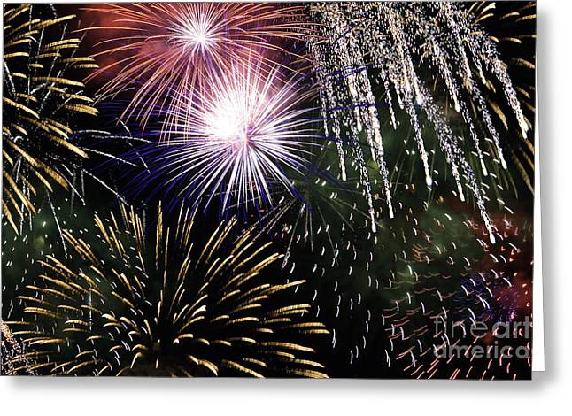 Big Bang Fireworks Greeting Card