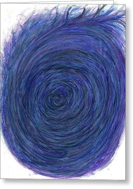 Big Bang - The Birth Of My Art #113 Greeting Card by Rainbow Artist Orlando L aka Kevin Orlando Lau