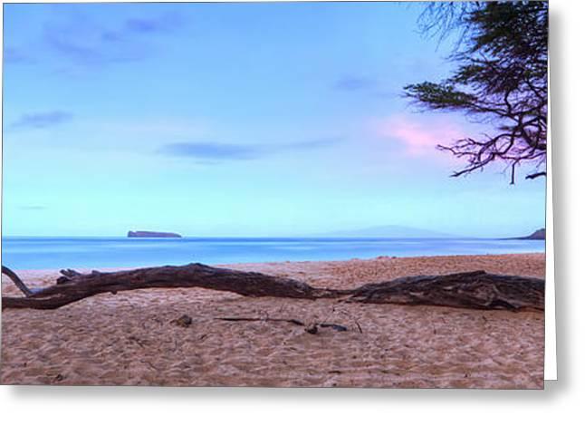 Big Beach In Makena Maui Greeting Card