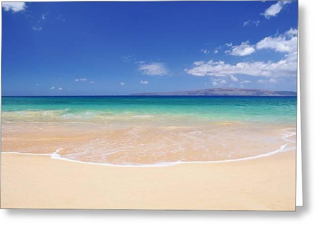 Secret Beach Greeting Cards - Big Beach Greeting Card by Kelly Wade