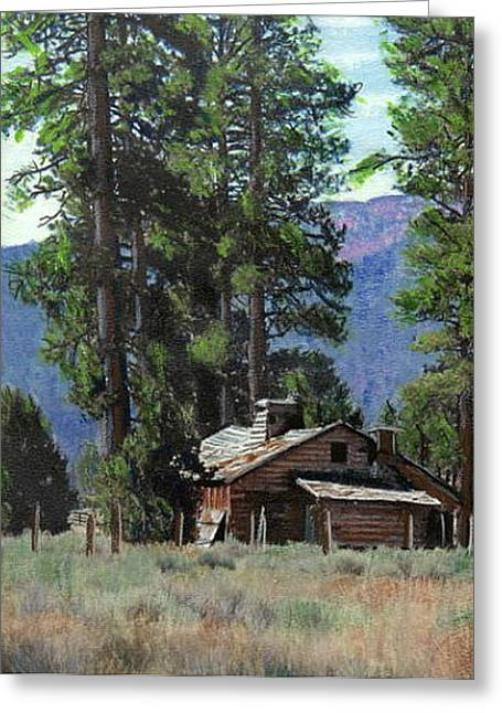 Big Bear Meadow Greeting Card