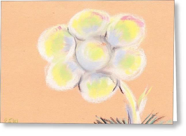 Big Beautiful Flower Greeting Card