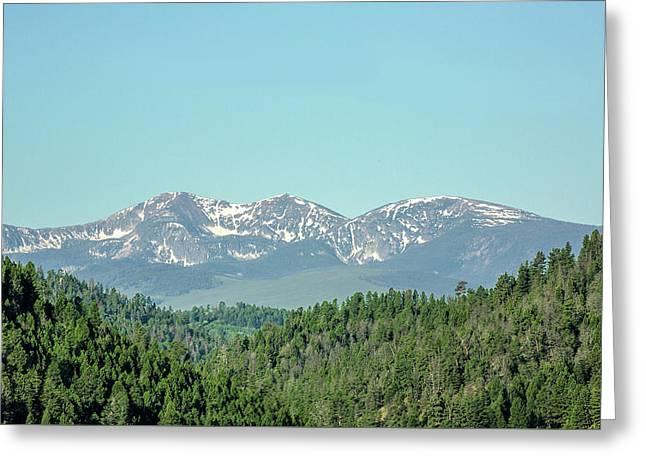 Big Belt Mountains Greeting Card