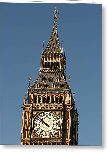 Greeting Card featuring the photograph Big Ben by Andrei Fried