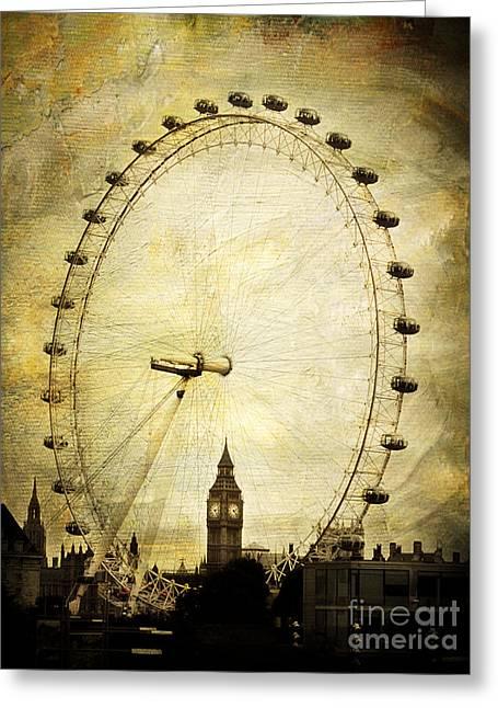 Big Ben In The London Eye Greeting Card