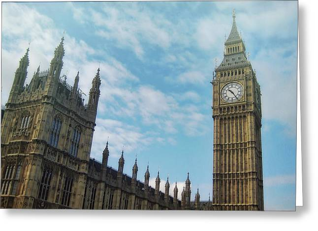 Big Ben Greeting Card by JAMART Photography
