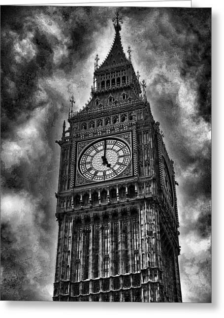 Big Ben London England Greeting Card by Jon Berghoff