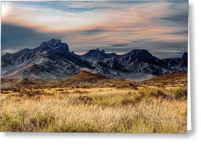 Big Bend Hill Tops Greeting Card