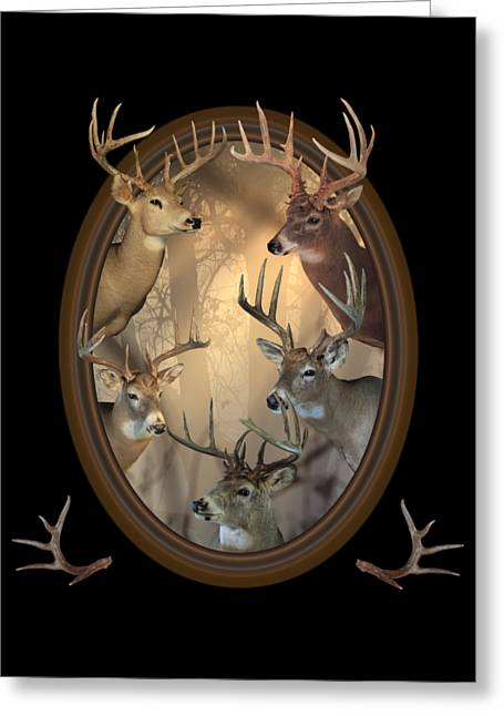 Big Bucks Greeting Card