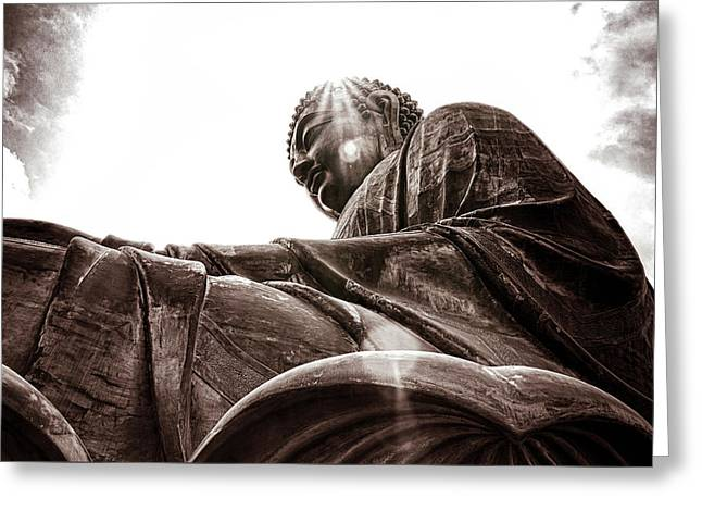 Big Buddha Greeting Card