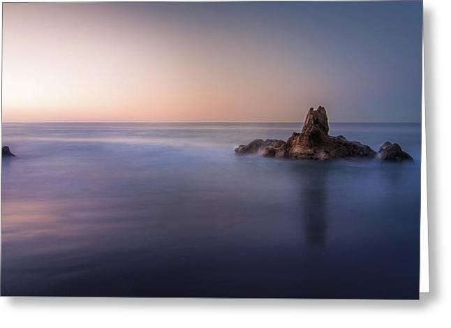 Big Corona Rock Greeting Card
