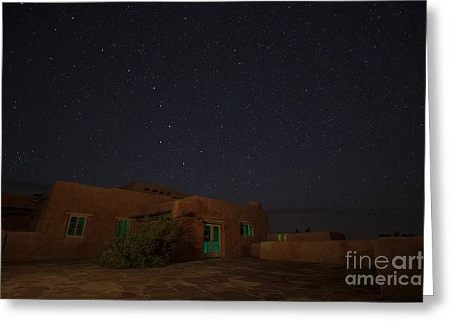 Greeting Card featuring the photograph Big Dipper Over Pdi by Melany Sarafis