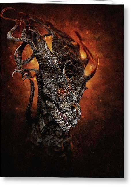 Big Dragon Greeting Card