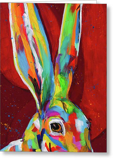 Big Ears Greeting Card by Tracy Miller