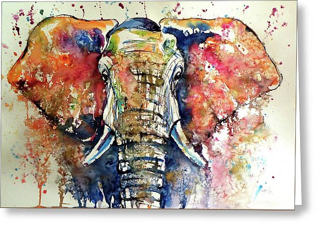 Big Elephant Greeting Card
