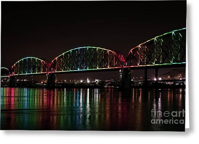 Big Four Bridge 2215 Greeting Card