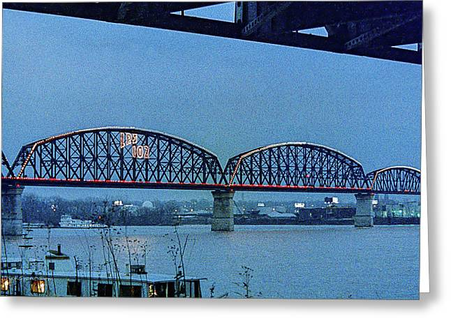 Big Four Bridge Greeting Card