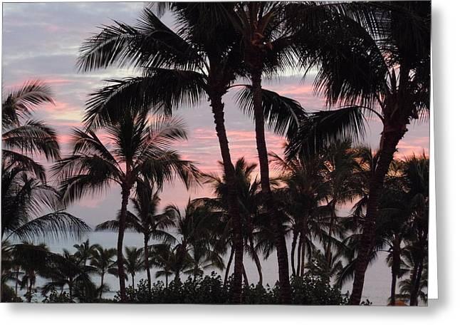 Big Island Sunset 2 Greeting Card