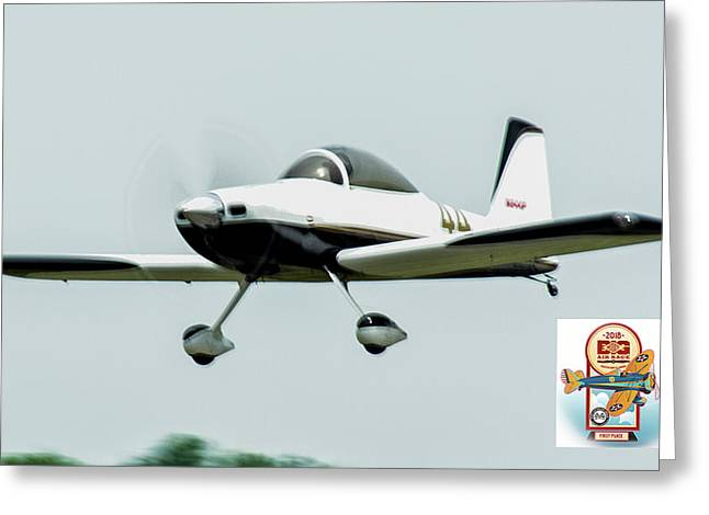Big Muddy Air Race Number 44 Greeting Card
