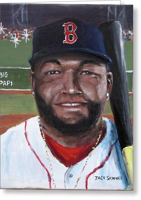 Big Papi Greeting Card