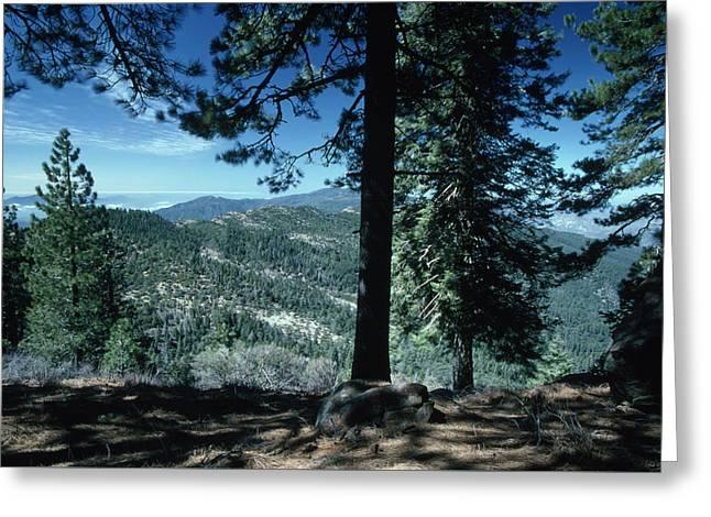 Big Pine Mountain - San Rafael Wilderness Greeting Card