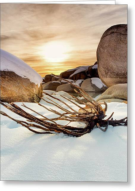Big Rocks Greeting Card by Jairo Gonzalez