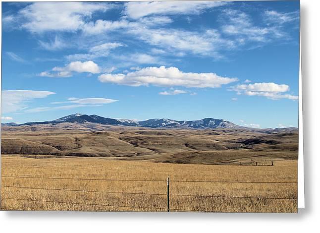 Big Sky Montana Greeting Card by Jessica Yudis