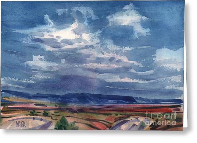Big Sky New Mexico Greeting Card