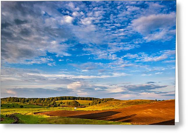Big Sky Ontario Greeting Card by Steve Harrington