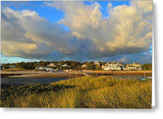 Big Sky Over Sesuit Harbor Greeting Card