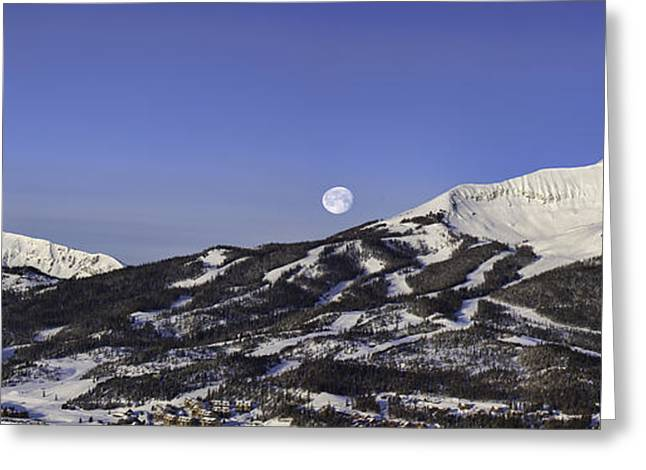 Big Sky Panorama Greeting Card by Mark Harrington
