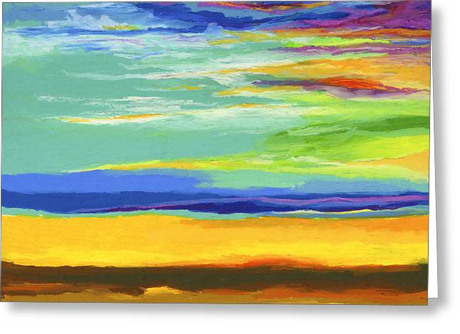 Big Sky Greeting Card by Stephen Anderson