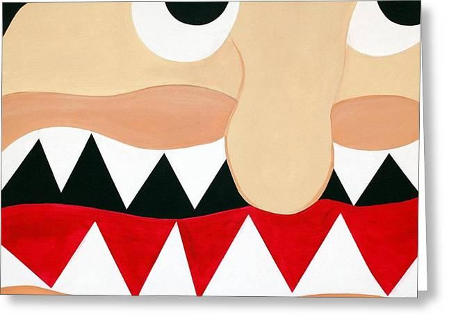 Sal Marino Greeting Cards - Big Smile Greeting Card by Sal Marino