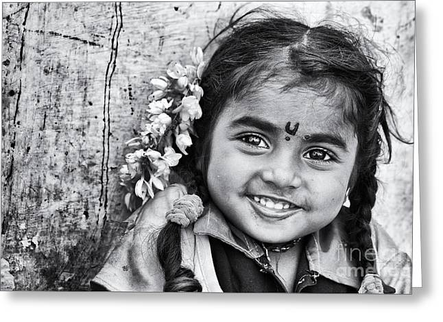 Big Smile Greeting Card by Tim Gainey
