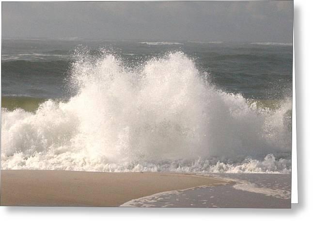 Big Splash Greeting Card by Dennis Curry