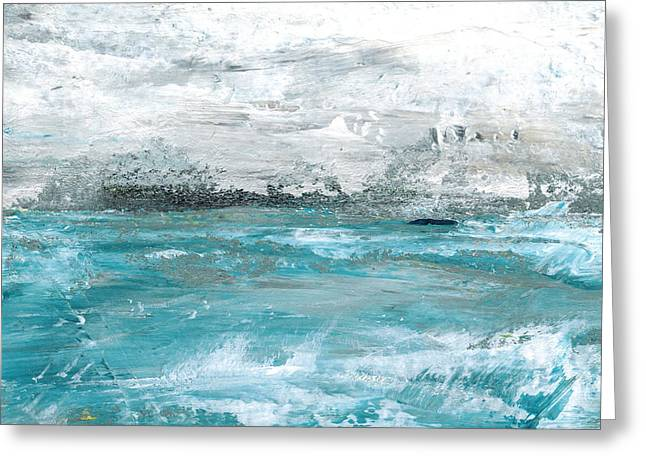 Big Storm Brewing Greeting Card by Judy Jacobs