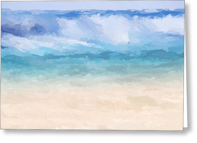 Big Sur Beach Wave Greeting Card