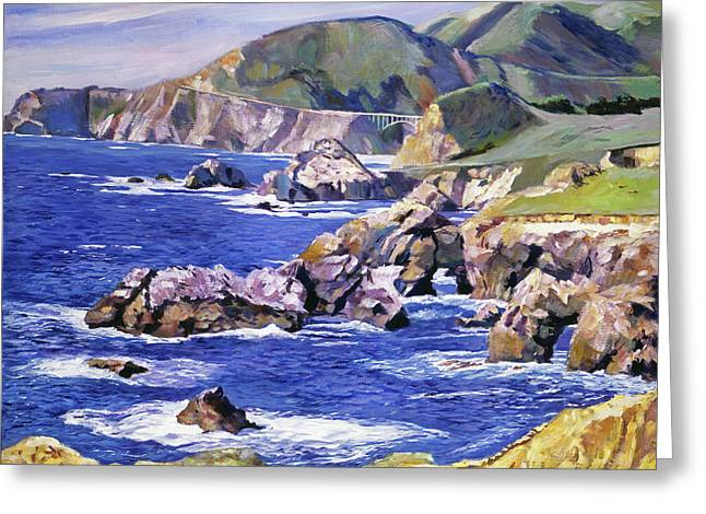 Big Sur California Coast Greeting Card