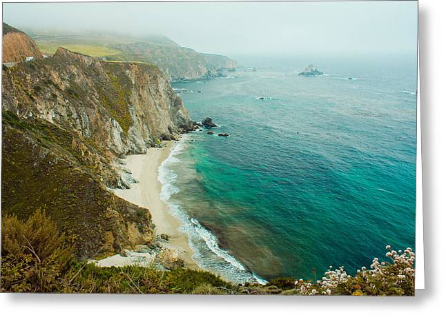 Big Sur Greeting Card by Chris Marcussen